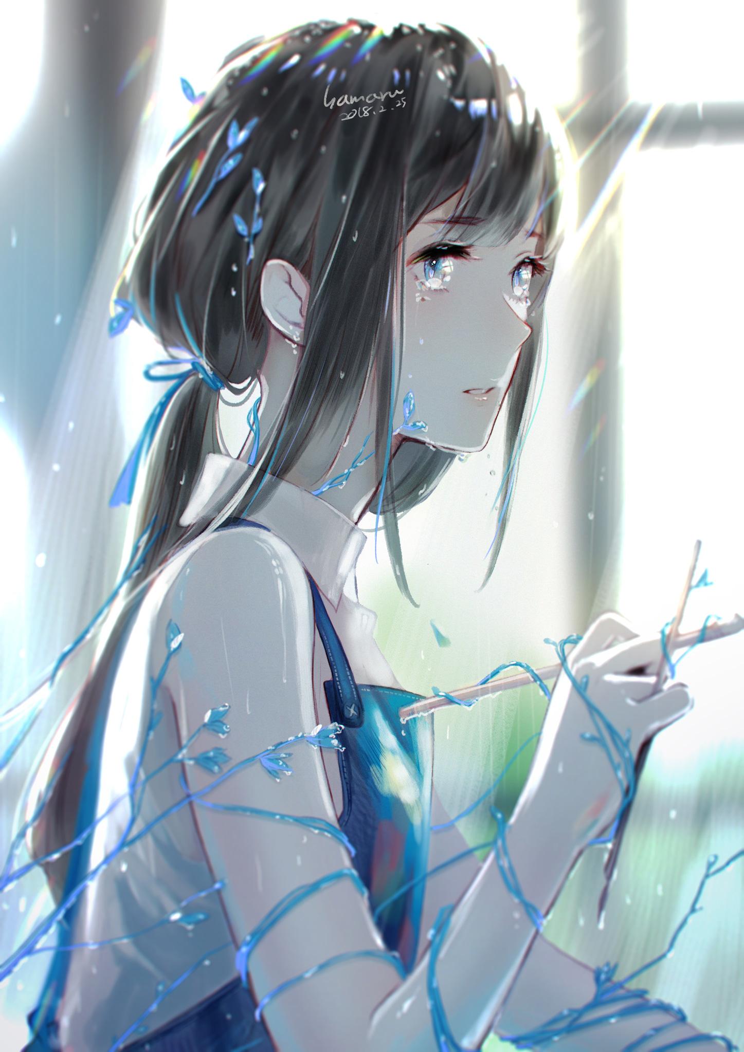 Аниме девушки и слезы в картинках