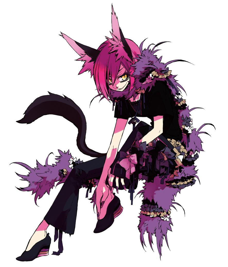 Human Cat Cheshire