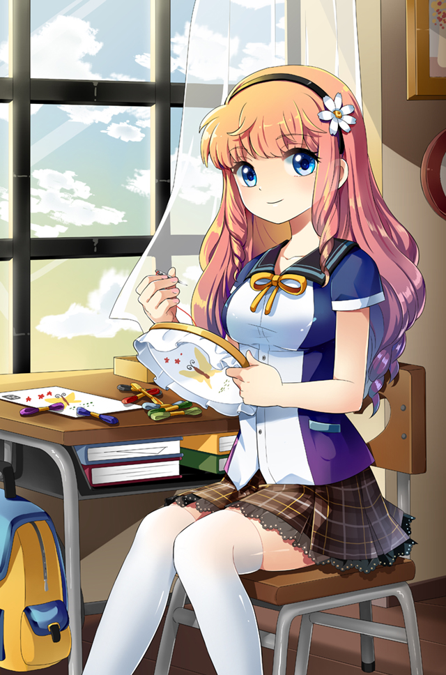 Tags: Anime, Pixiv Id 737618, Sewing, Pixiv