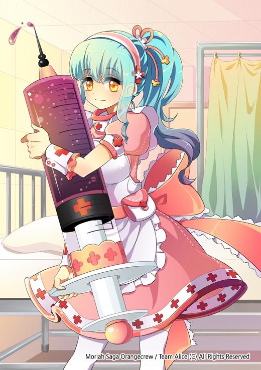 Tags: Anime, Pixiv Id 737618, Syringe, Original, Pixiv