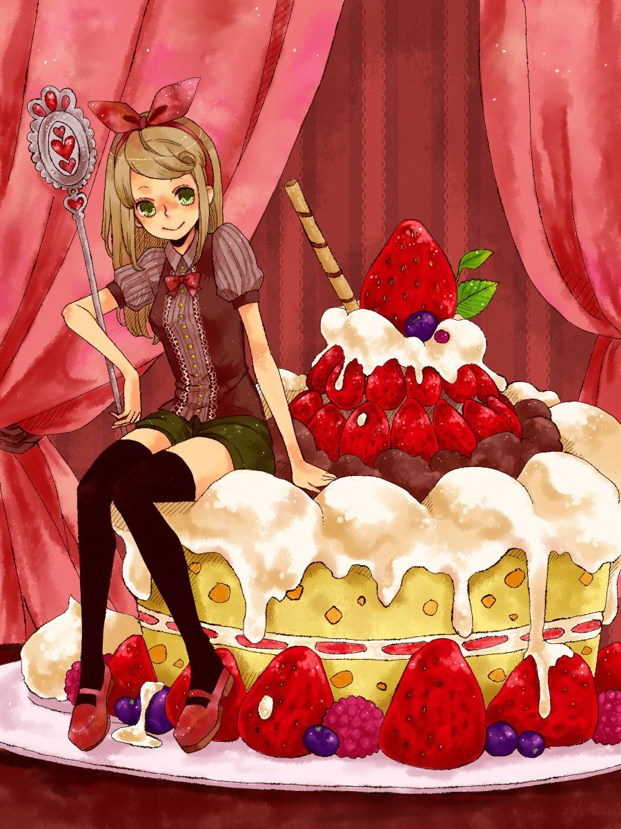 Картинки аниме тортиков