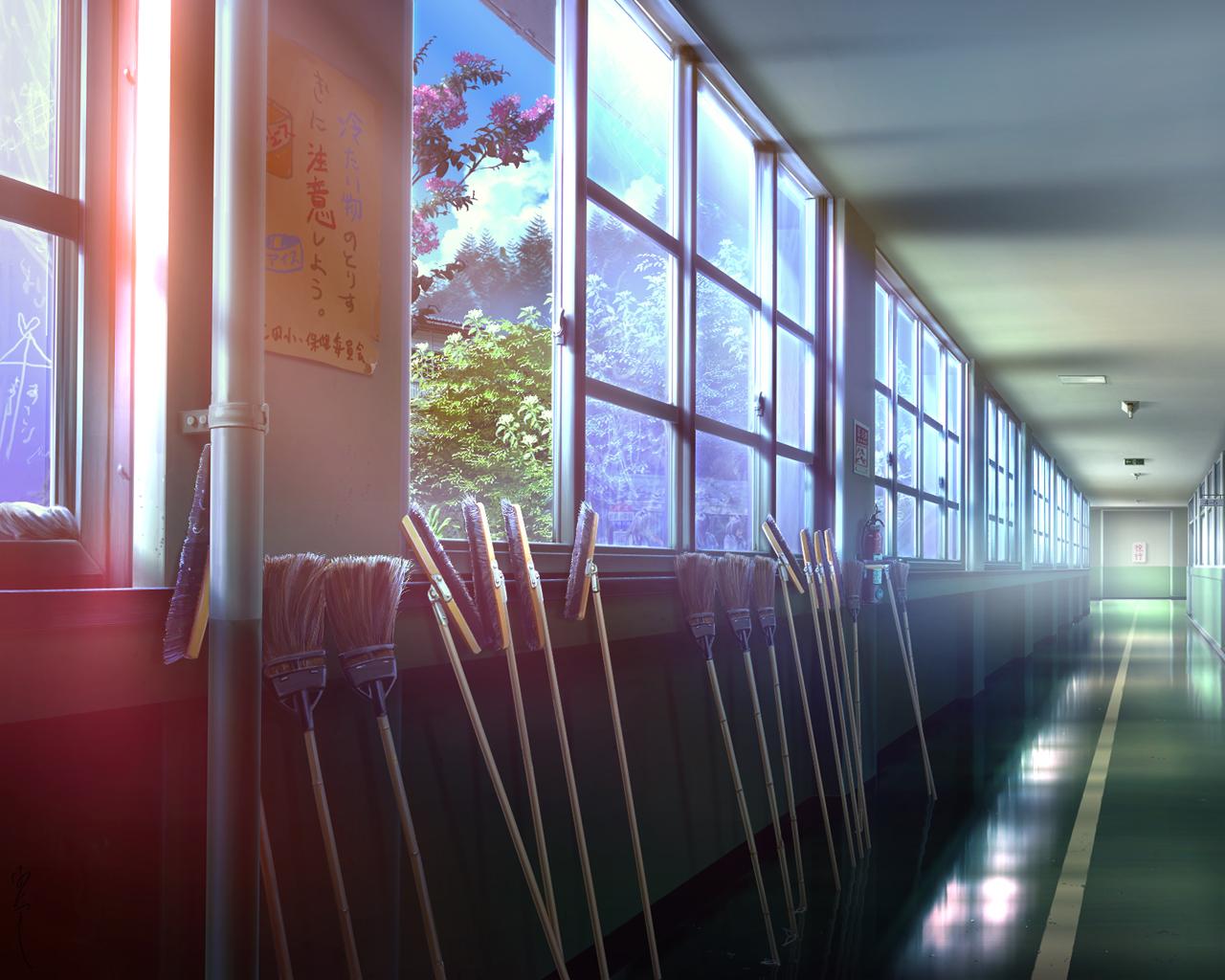 Pixiv id 843445 wallpaper 957554 zerochan anime image board - Wallpaper corridor ...