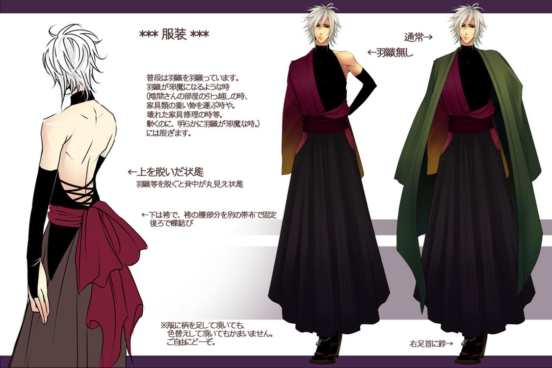 Anime Traditional Dresses