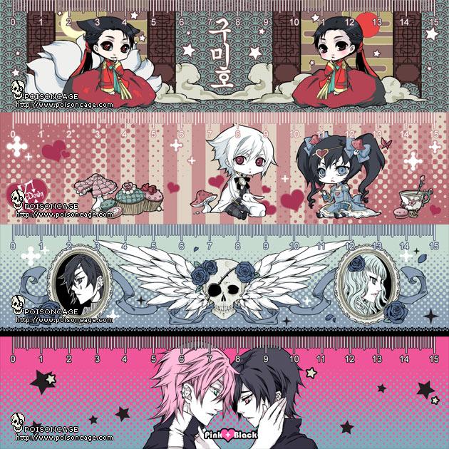 Tags: Anime, Poisoncage, X-down, Pink+Black, Danse Macabre, Cal (Danse Macabre), Terence (Pink+Black), Nia (Danse Macabre), Sifris (Pink+Black), Lapin Blanc (X-down), Alice (X-down), Graduation, Hanbok