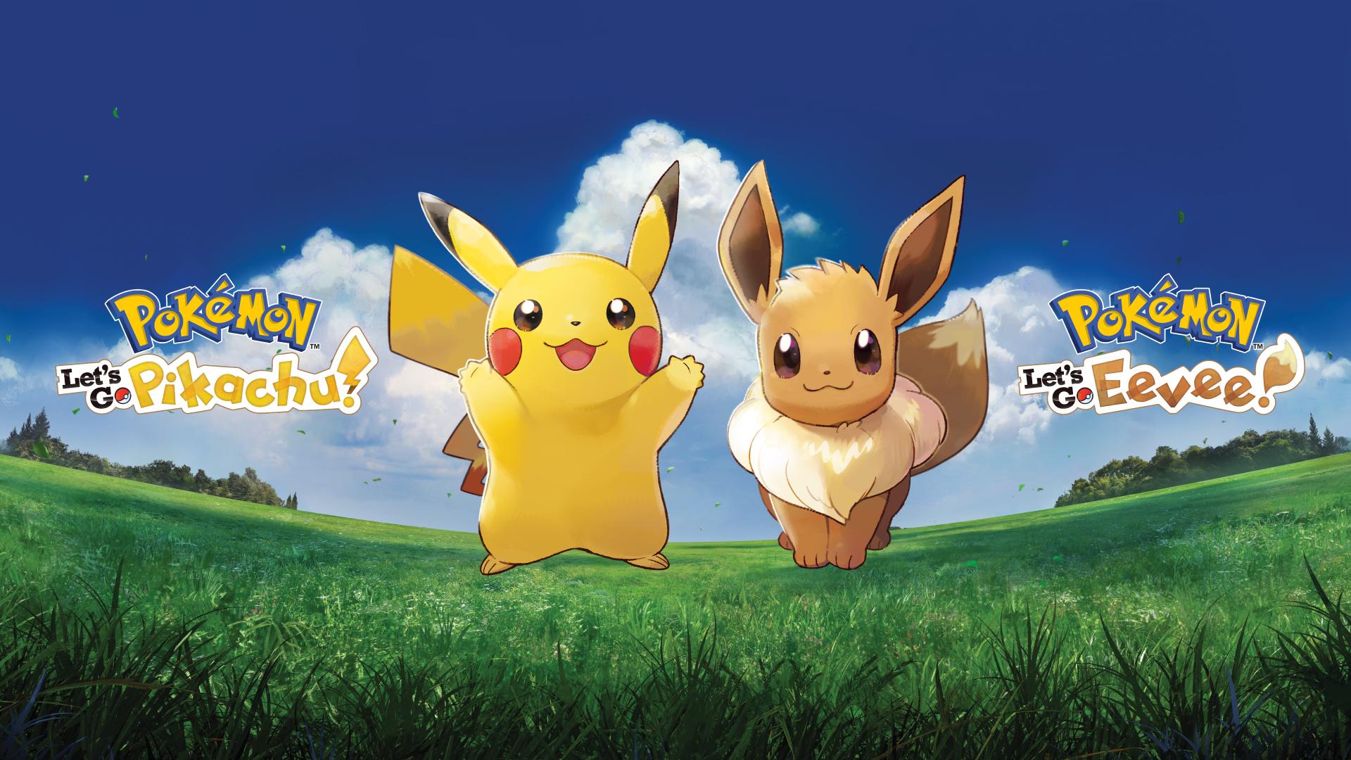 Pokemon Let S Go Pikachu Amp Let S Go Eevee Wallpaper