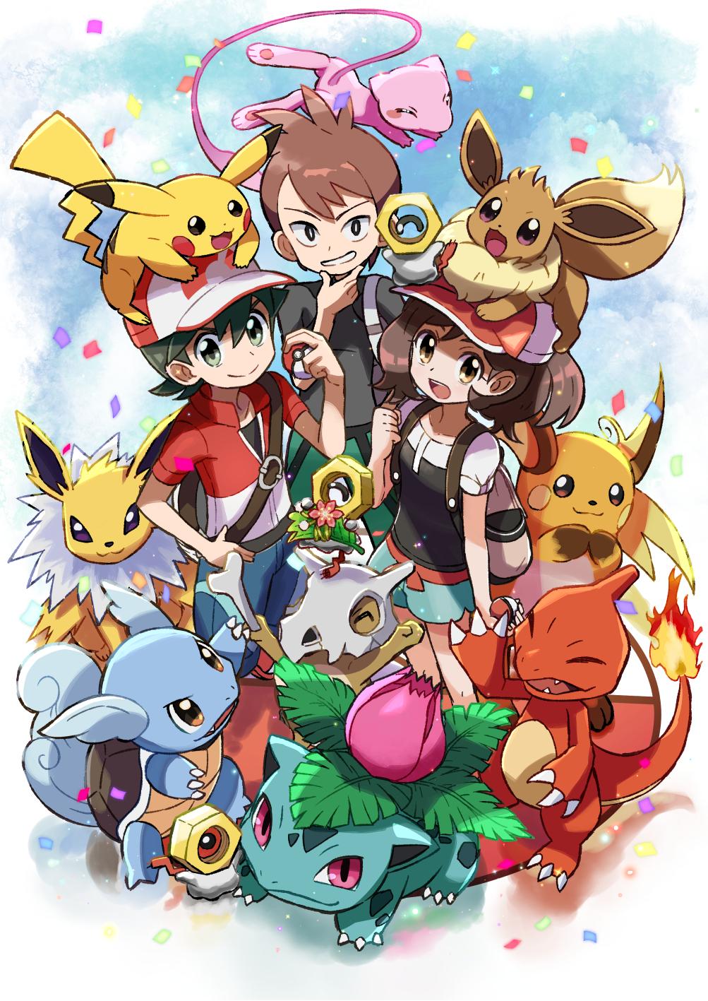 Shin Pokemon Let S Go Pikachu Let S Go Eevee Pokemon
