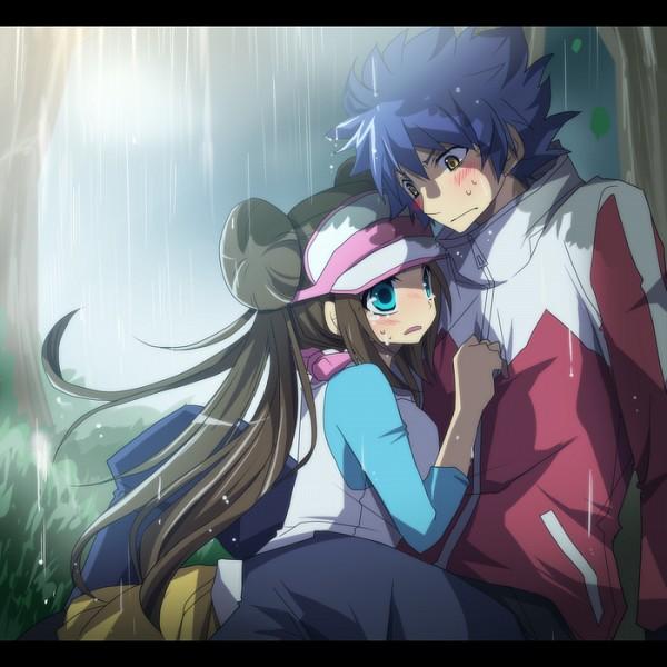 Tags: Anime, Aya (Pixiv263198), Pokémon, Hue, Mei (Pokémon), Outdoors, Gray Pants