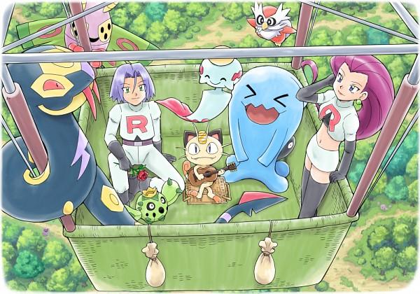 Tags: Anime, Soara, Pokémon, Weezing, Cacnea, Delibird, Arbok