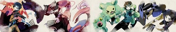 Tags: Anime, Chima Tsuitta, Pokémon, VOCALOID, Touya (Pokémon), Lucario, Yuuki (Pokémon)