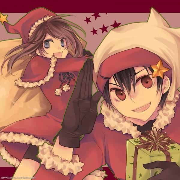 Tags: Anime, Jikei, Pokémon SPECIAL, Pokémon, Yuuki (Pokémon), Haruka (Pokémon), Christmas Outfit