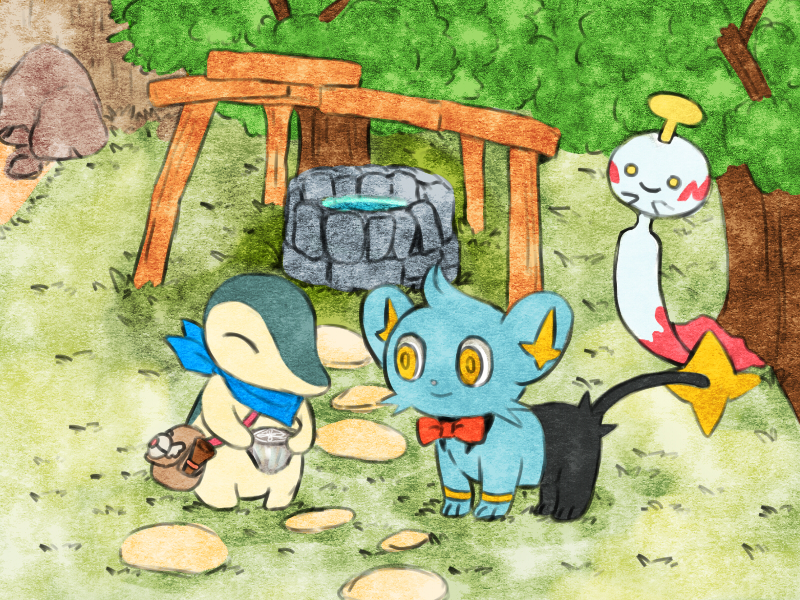 Pokemon Fushigi No Dungeon Pokemon Mystery Dungeon Wallpaper 2621243 Zerochan Anime Image Board