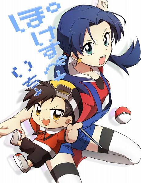 Tags: Anime, Minthama, Pokémon SPECIAL, Pokémon Gold & Silver, Pokémon, Kris (Pokémon), Hibiki (Pokémon)