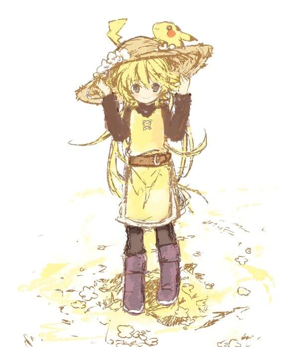 Tags: Anime, Bear (Artist), Pokémon SPECIAL, Pokémon, Yellow (Pokémon Special), Pikachu, Chuchu (Pokémon), Pokémon Adventures