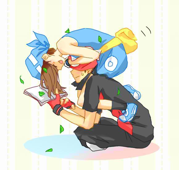 Tags: Anime, Pixiv Id 2144273, Pokémon SPECIAL, Pokémon, Odamaki Sapphire, Ruby (Pokémon SPECIAL), Fanny Pack, Pixiv, Fanart, RuSa, Pokémon Adventures