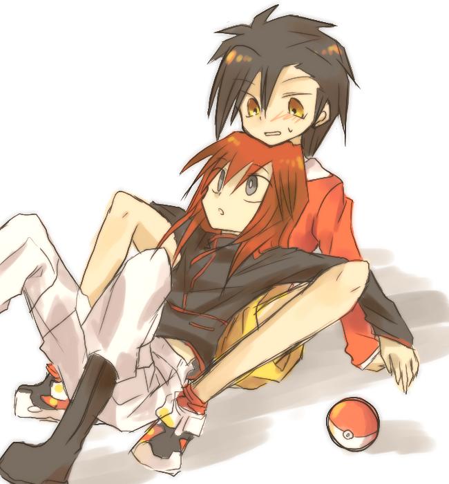 Tags: Anime, Pixiv Id 1057628, Pokémon SPECIAL, Pokémon, Silver (Pokémon SPECIAL), Gold (Pokémon SPECIAL), PNG Conversion