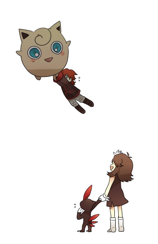 Tags: Anime, Pixiv Id 845530, Pokémon SPECIAL, Pokémon, Jigglypuff, Blue (Pokémon SPECIAL), Sneasel, Silver (Pokémon SPECIAL), Mobile Wallpaper, Pixiv, Fanart From Pixiv, Fanart, SilBlue, Pokémon Adventures