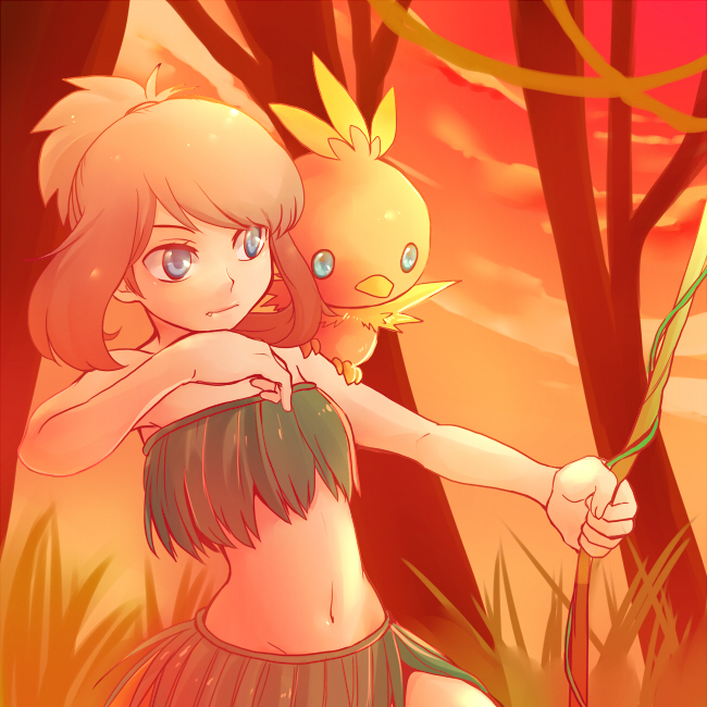 Tags: Anime, Shirou Vista, Pokémon SPECIAL, Pokémon, Odamaki Sapphire, Torchic, Pixiv, Pokémon Adventures