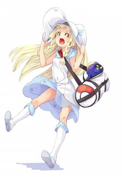 Tags: Anime, Fu-ta, Pokémon Sun & Moon, Pokémon, Lillie (Pokémon), Cosmog