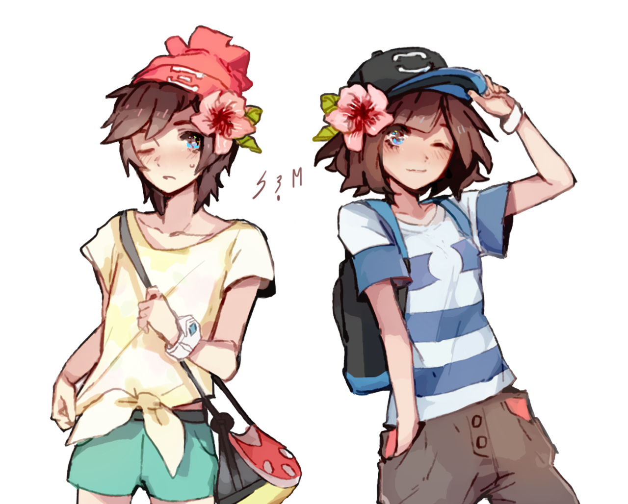 male protagonist pokemon sun moon cosplay male protagonist