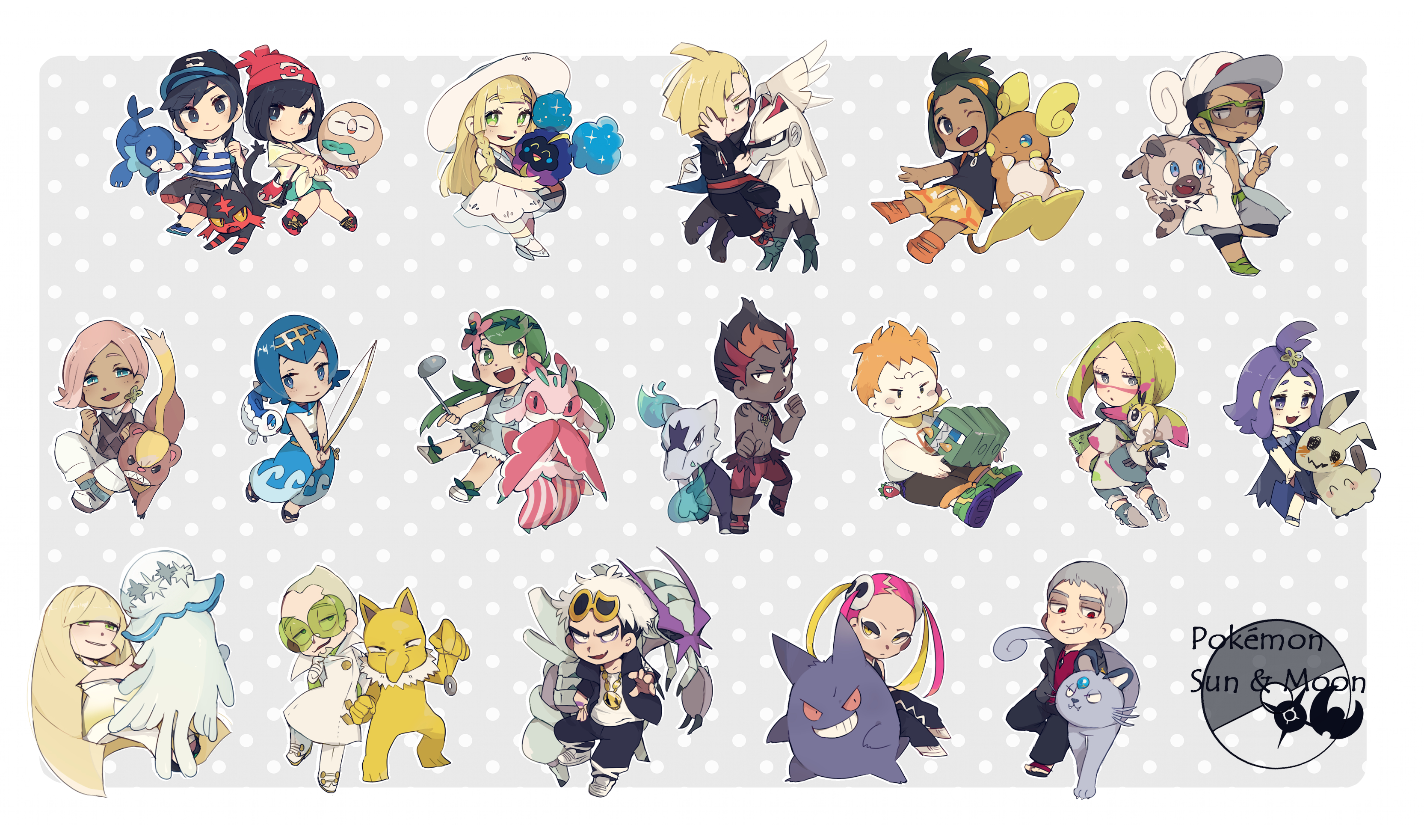 Pokemon Sun Moon Zerochan Anime Image Board