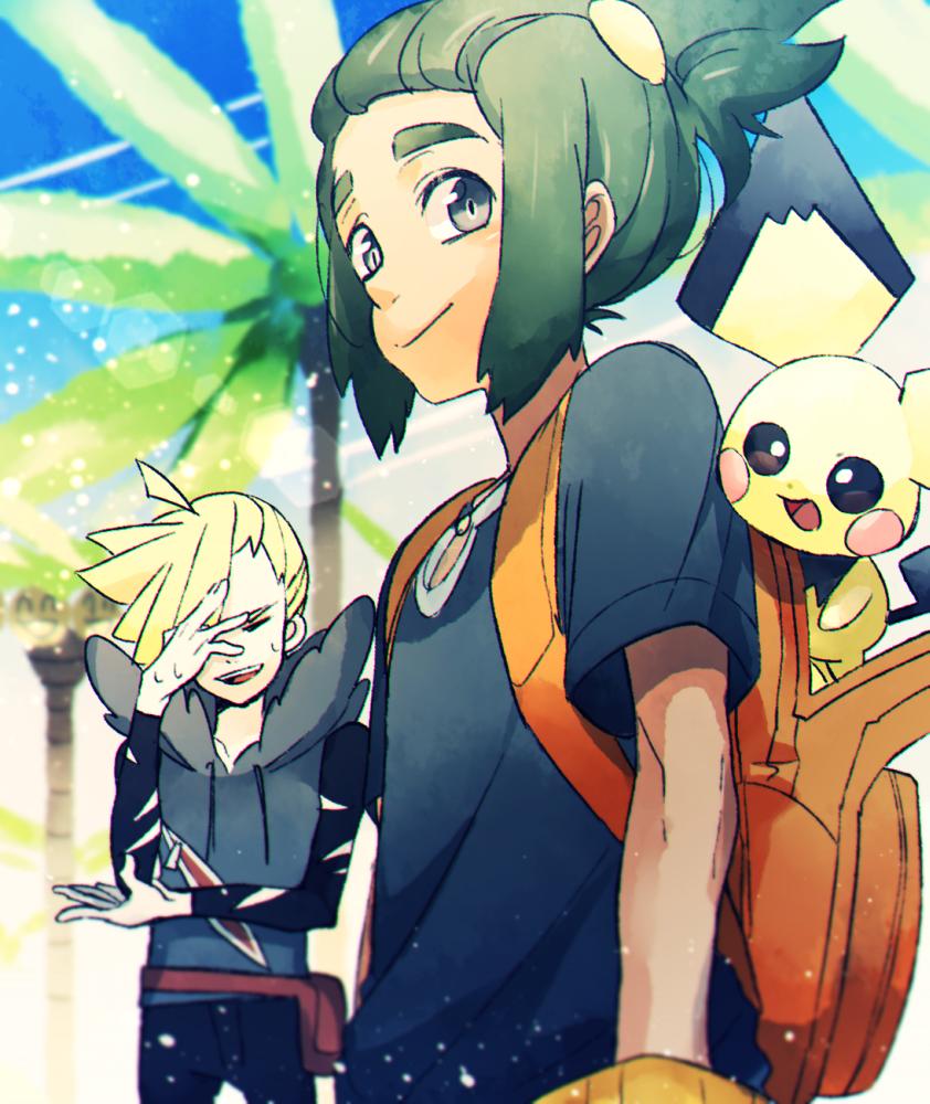 pichu in pokemon sun