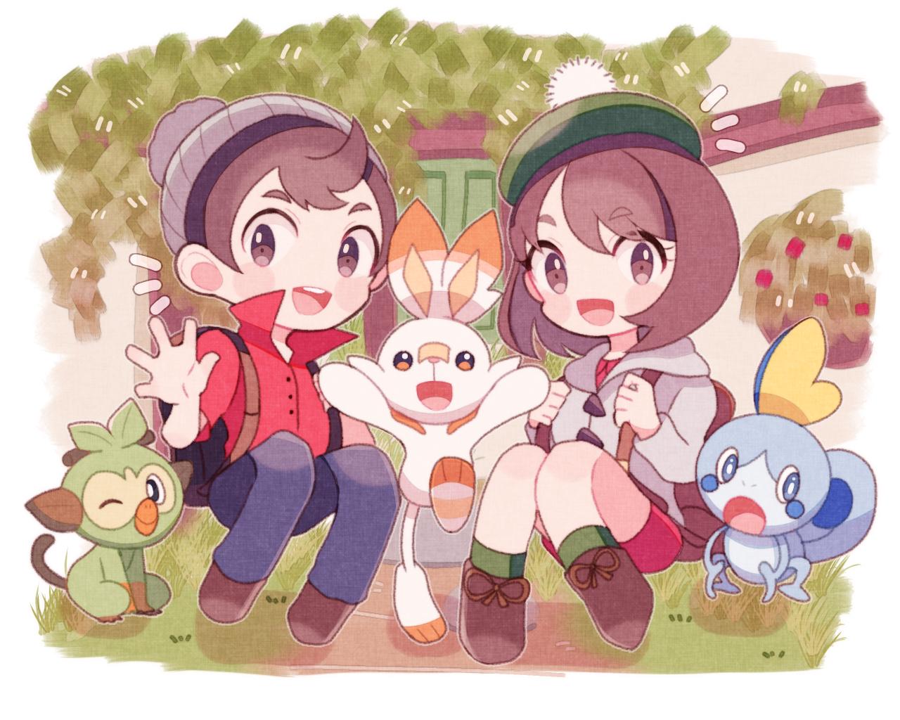 Male Protagonist Pokemon Sword Shield Zerochan Anime Image Board