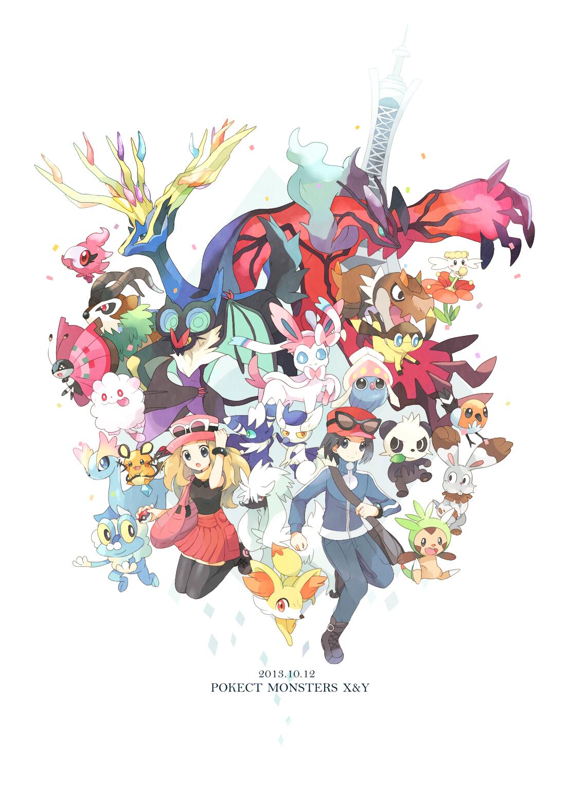 Pokemon X Amp Y Mobile Wallpaper 1609398 Zerochan Anime Image