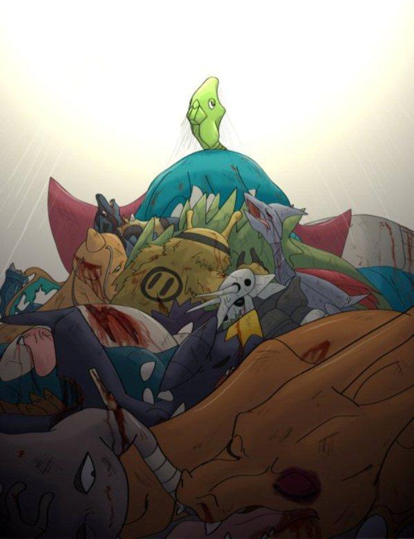 Tags: Anime, Pokémon, Snorlax, Charizard, Electivire, Tyranitar, Metapod, Metagross, Salamence, Dragonite, Hitmonlee, Garchomp, Lucario