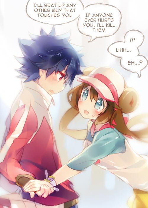 Tags: Anime, Namie-kun, Pokémon, Hue, Mei (Pokémon), Mobile Wallpaper