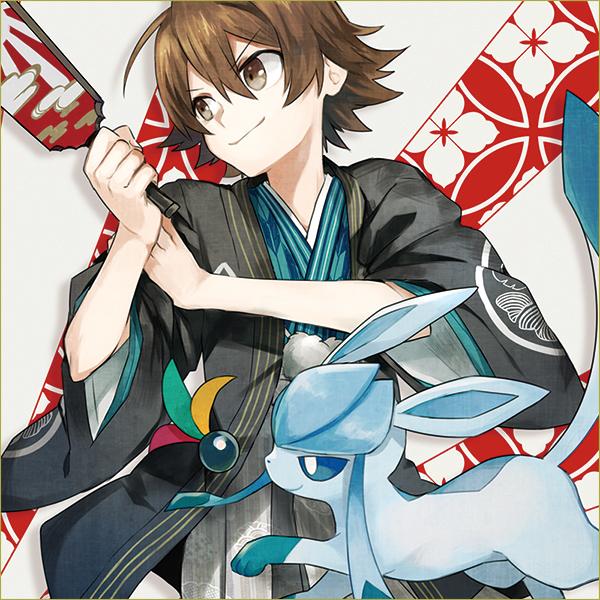 Tags: Anime, Akira Hou, Pokémon, Glaceon, Touya (Pokémon), Fanart, Fanart From Pixiv, Pixiv