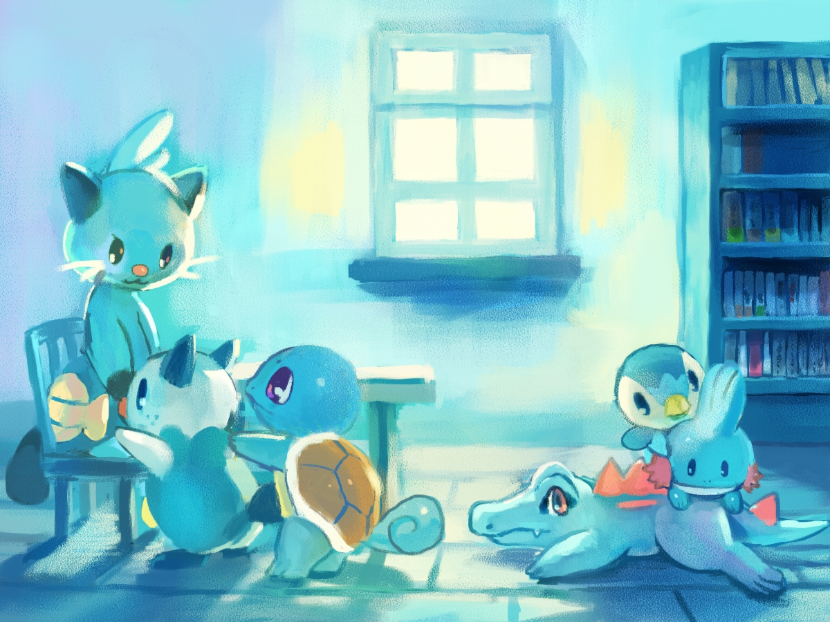 astrochris: Friday: Links first, because I have like 6MB ... |Pokemon Piplup And Oshawott