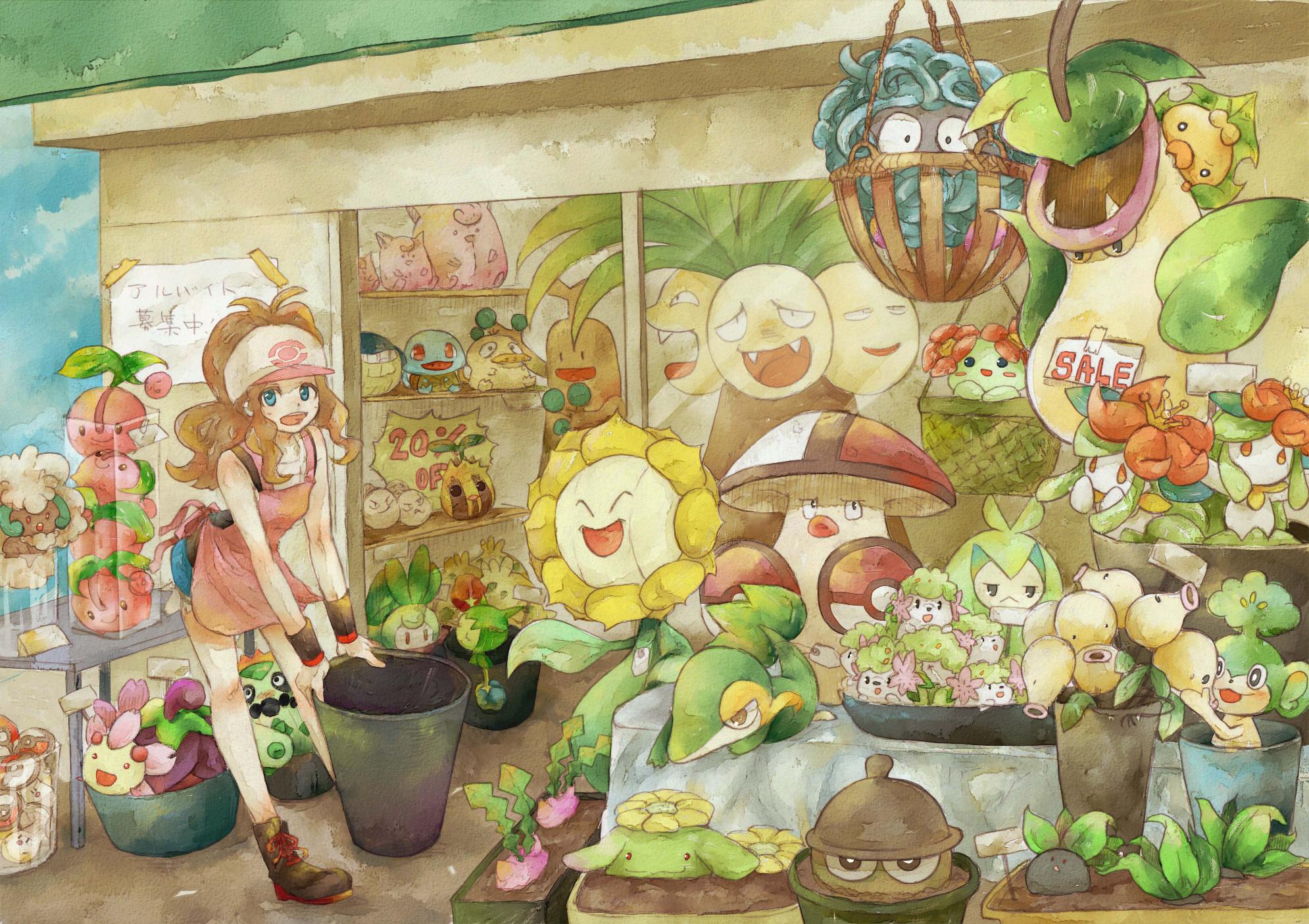 Cherrim Pokemon Zerochan Anime Image Board