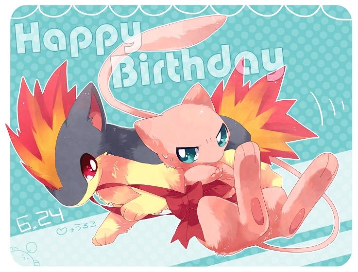 happy birthday pikachu