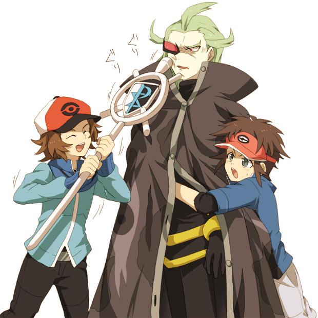 Tags Anime, Akasata, Pokémon, GCis Harmonia, Kyouhei