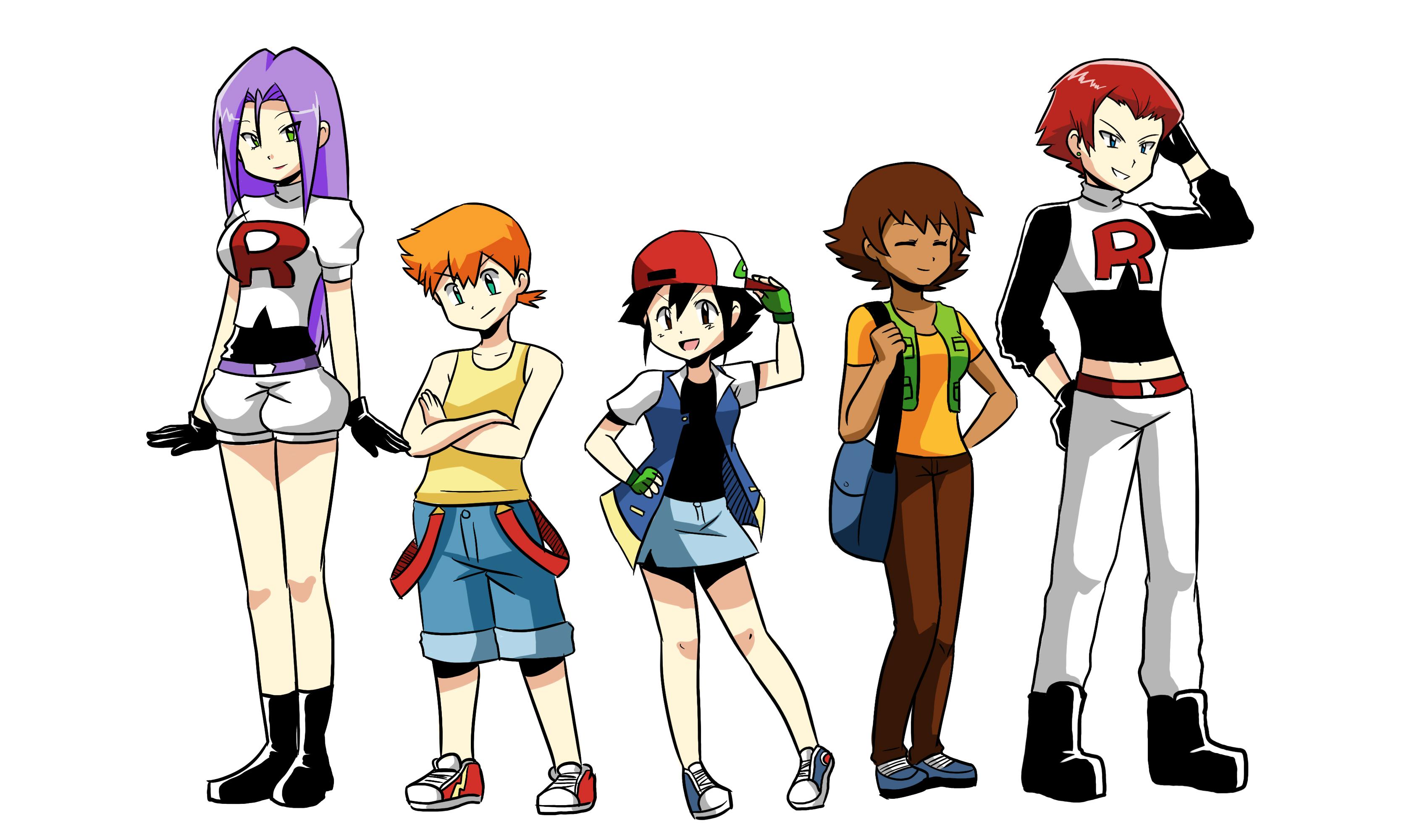 pokemon ash rule 63 images pokemon images