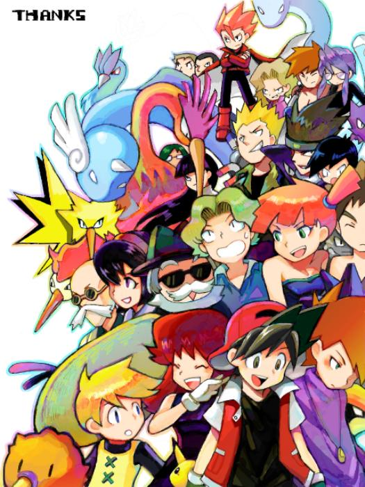 Tags: Anime, Pokémon SPECIAL, Pokémon, Pikachu, Green (Pokémon), Natsume (Pokémon), Yellow (Pokémon Special), Articuno, Matis, Leaf (Pokémon), Wataru (Pokémon), Bill (Pokémon), Kasumi (Pokémon)