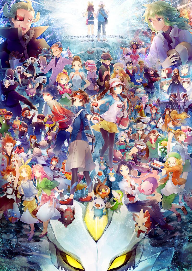Ruri Pokemon Black And White 2 Zerochan Anime Image Board