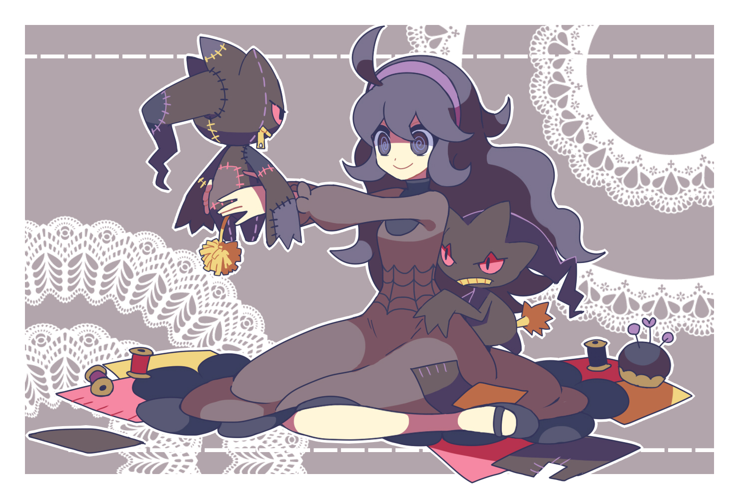 Hex maniac pok mon zerochan anime image board - Branette pokemon y ...