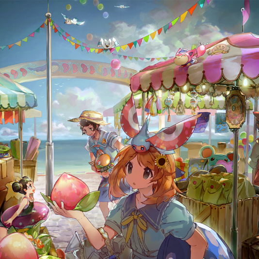 Tags: Anime, Namie-kun, Pokémon, Tuber (Pokémon), Marill, Huntail, Wingull, Yuuki (Pokémon), Feebas, Luvdisc, Gorebyss, Skitty, Haruka (Pokémon)
