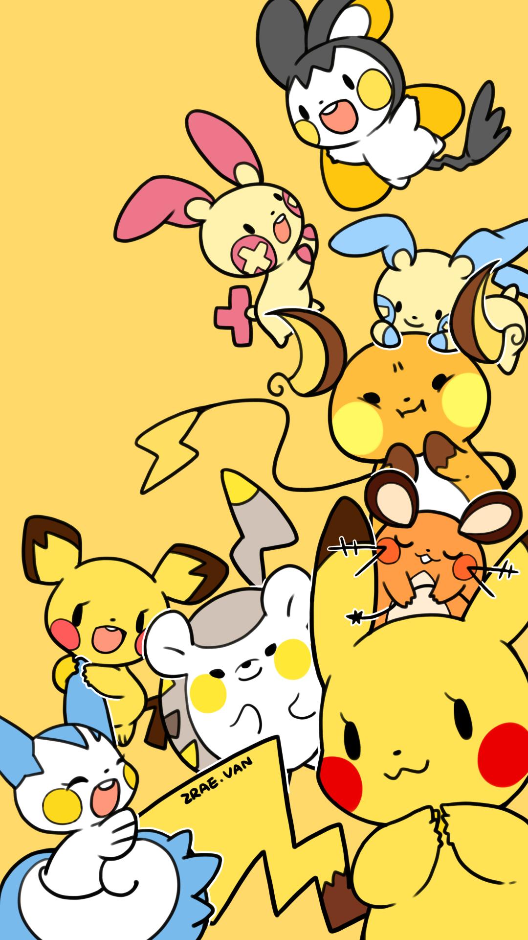 Pok 233 Mon Mobile Wallpaper 2014932 Zerochan Anime Image Board