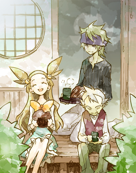 Tags: Anime, Pixiv Id 7637207, Pokémon, Yanagi (Pokémon), Mikan (Pokémon), Matsuba (Pokémon), Pixiv