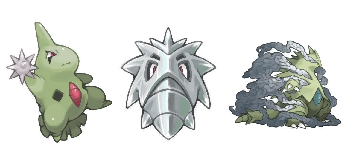 Pokémon Image #362135 - Zerochan Anime Image Board Larvitar Evolution Chart