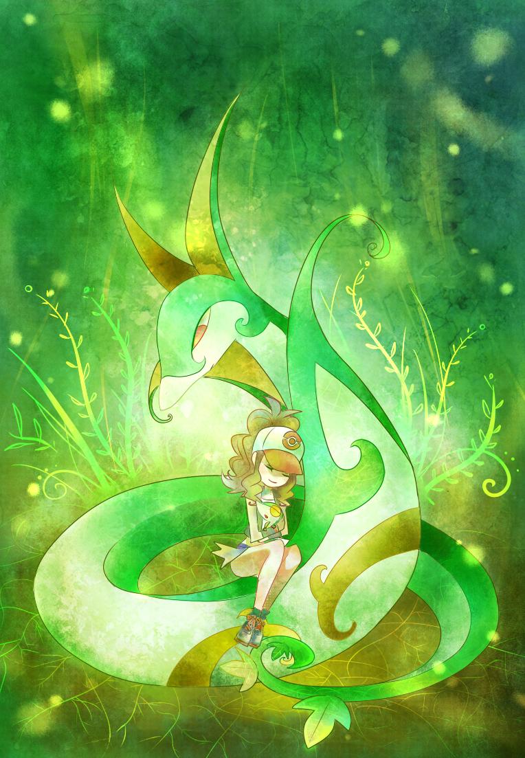 Serperior, Mobile Wallpaper - Zerochan Anime Image Board