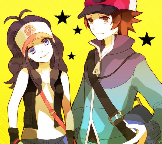 Tags: Anime, Pokémon, Touya (Pokémon), Touko (Pokémon), Pixiv