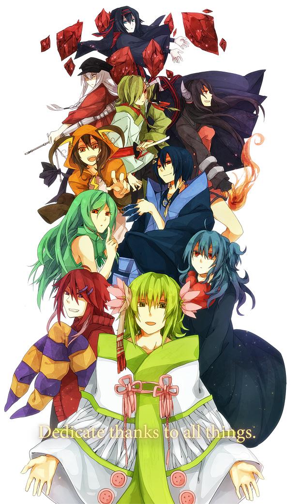 Tags: Anime, Asanagi00, Pokémon, Shaymin, Xatu, Empoleon, Raichu, Houndoom, Ariados, Misdreavus, Legendary Pokémon, Mobile Wallpaper, Pixiv