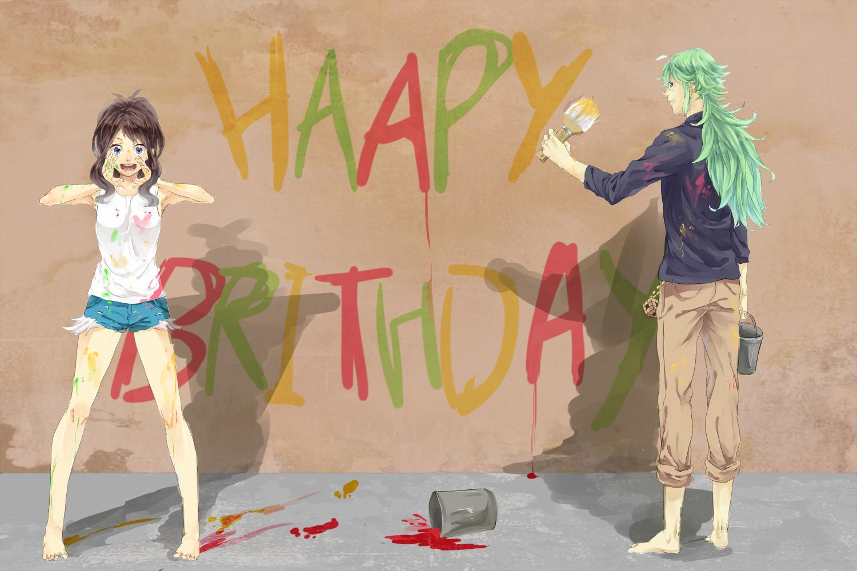 Аниме картинки поздравления к дню рождения 599