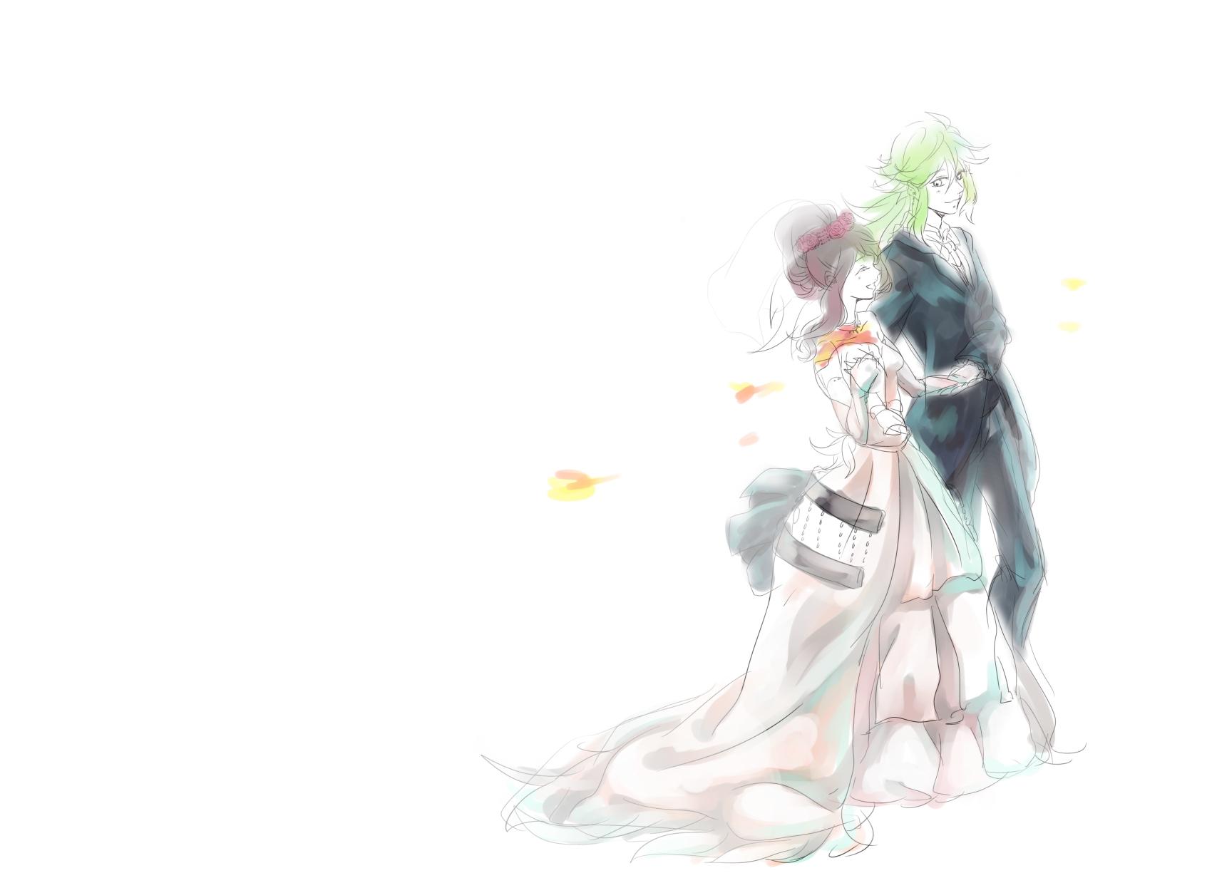 wedding dress wedding page 9 zerochan anime image board