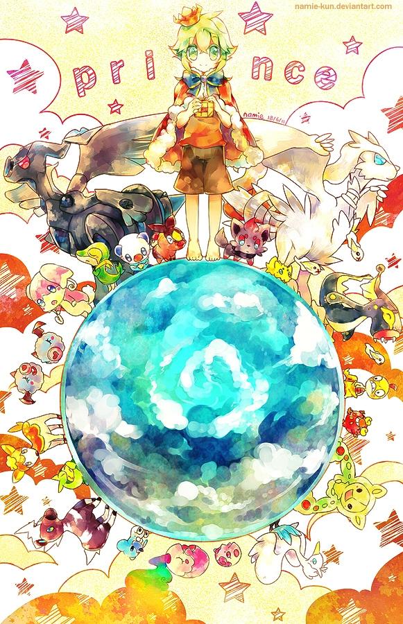 Tags: Anime, Namie-kun, Pokémon, Tynamo, Zorua, Scraggy, Blitzle, Darumaka, Eelektross, N (Pokémon), Cubchoo, Munna, Joltik