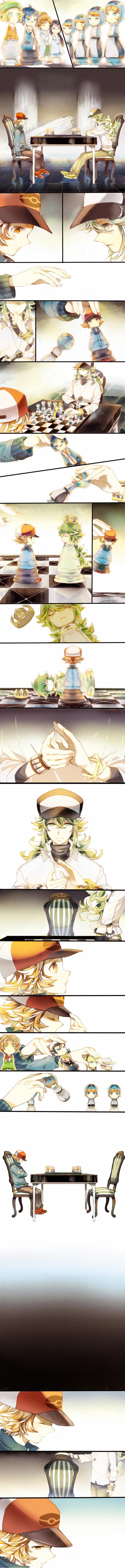 Tags: Anime, Yuuichi-87, Pokémon, Bel (Pokémon), Kamitsure, Cheren (Pokémon), Giima, N (Pokémon), Plasma-dan Shitappa (Male), Arty (Pokémon), Araragi (Pokémon), Plasma-dan Shitappa (Female), Makomo (Pokémon)