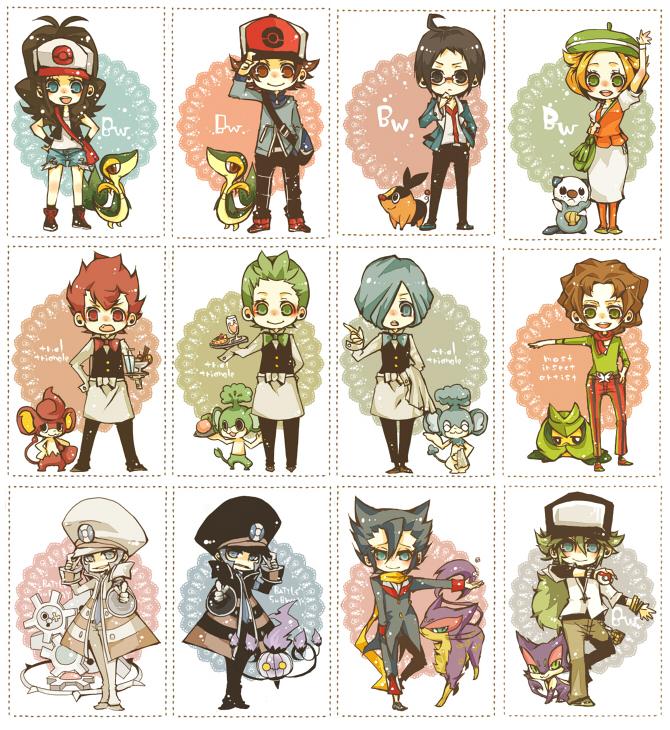 Tags: Anime, Osamu / 修, Pokémon, Dento (Pokémon), Kudari, Touya (Pokémon), Touko (Pokémon), Purrloin, Liepard, Bel (Pokémon), Arty (Pokémon), Snivy, Pod (Pokémon)